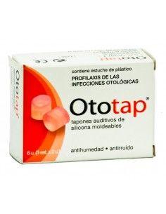 TAPONES OIDOS OTO-TAP SILICONA 6 U