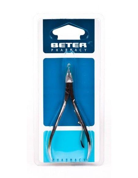 BETER ALICATE MANICURA PIEL  INOX 24071