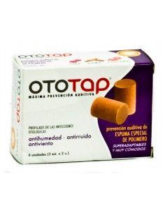 TAPONES OIDOS OTO-TAP ESPUMA 6 U