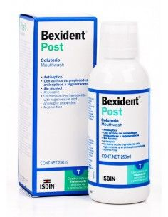 BEXIDENT POST COLUT. 250 ML SIN ALCOHOL ( VERDE)