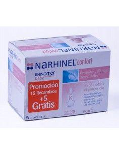 NARHINEL CONFORT ASPIRADOR RECAMBIO 20 BLANDO DE