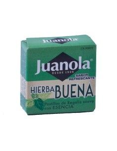 JUANOLA PASTILLAS HIERBABUENA 5.4 G