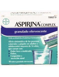 ASPIRINA COMPLEX 10 SOBRES EFERVES